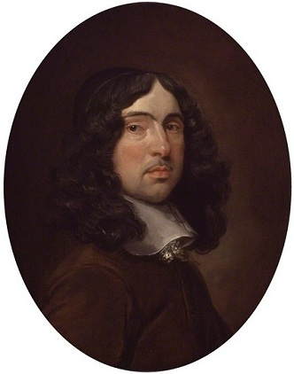 Andrew Marvell, ca. 1660 (Unknown Artist)   National Portrait Gallery, London,   NPG 554