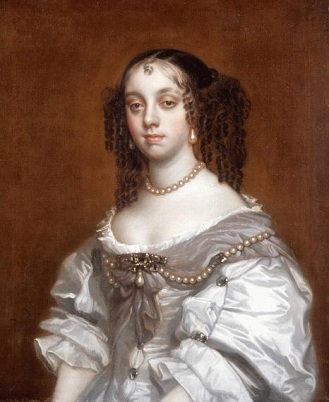 Catherine of Braganza, Queen Consort of England, 1665 (studio of Sir Peter Lely) (1618-1680)  Philip Mould Ltd., London