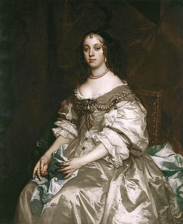 Catherine of Braganza, Queen Consort of England, ca. 1665 (Sir Peter Lely) (1618-1680)  The Royal Collection, UK,  RCIN 401214