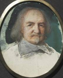 Thomas Hobbes,  ca. 1660  (Samuel Cooper) (1608-1672) Cleveland Museum of Art, OH 1949.548