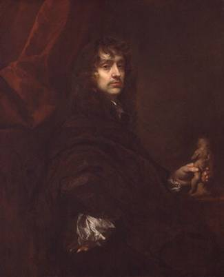 Self Portrait at 42 years old, ca. 1660 (Sir Peter Lely) (1618-1680) Location TBD