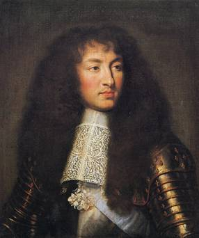 Louis XIV at 23 years old, 1661  (Charles le Brun) (1619-1690)   Location TBD