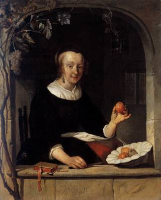 A Lady, ca. 1661(Gabriel Metsu) (1629-1667) The Metropolitan Museum of Art, New York, NY 1982.60.32