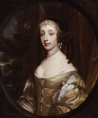 Henrietta Anne,  Duchess of Orléans, ca. 1662  (Sir Peter Lely)   (1618-1680)   Location TBD