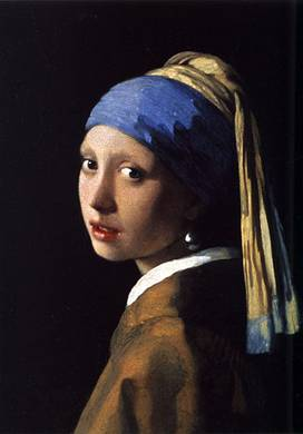 The Girl with the Pearl Earring. ca. 1665 (Johannes Vermeer) (1632-1675) Mauritshuis, Den Haag
