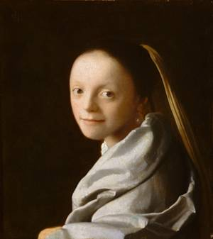 A Young Woman, ca. 1665-1667 (Johannes Vermeer) (1632-1975)    The Metropolitan Museum of Art, New York, NY    1979.396.1