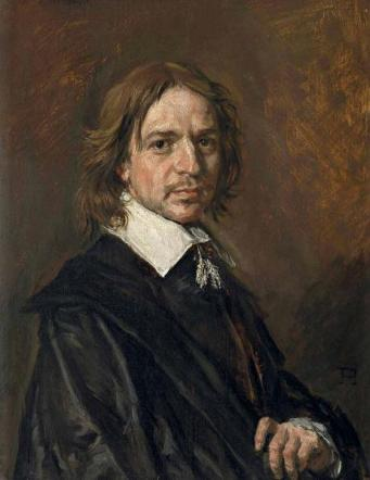 A Man, ca. 1660-1665 (Frans Hals) (1582-166)    The Weiss Gallery, London