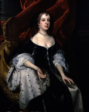 Catherine of Braganza, Queen Consort of England, 1665 (Sir Peter Lely) (1618-1680)  Philip Mould Ltd., London