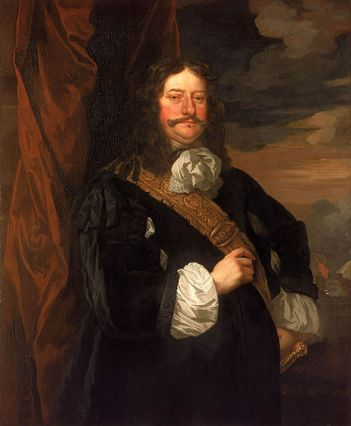 Rearadmiral Sir Thomas Teddiman, 1666 (Sir Peter Lely) (1618-1680) National Maritime Museum, Greenwich, London