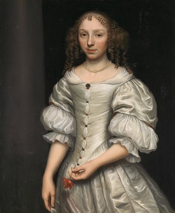 A Young Woman, ca. 1665 (Wallerant Vaillant) (1623-1677) Location TBD