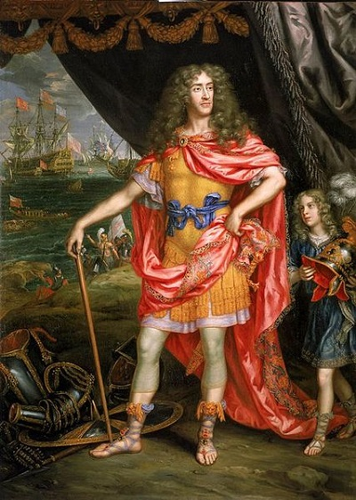 James, Duke of York, future King of England, ca. 1673 (Sir Peter Lely) (1618-1680)  National Maritime Museum, Greenwich, London