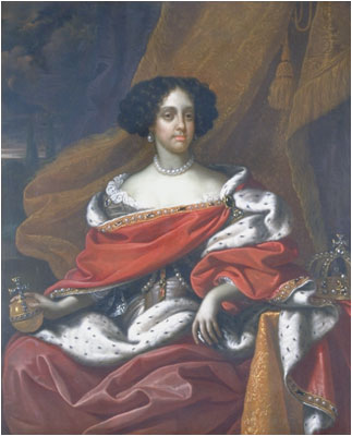 Catherine Braganza, Queen Consort of England, ca. 1675 (Benedetto Gennari the Younger (1633-1715) Location TBD
