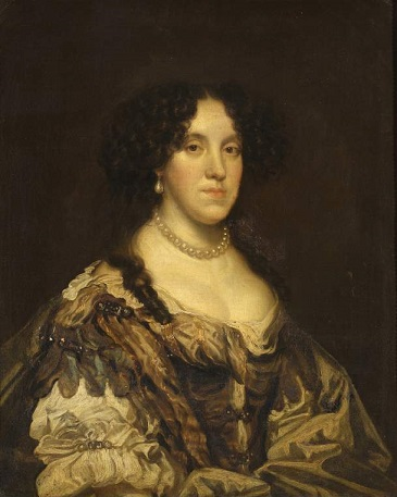 Eleanor, Countess of Tyrconnel, ca. 1675 (circle of Sir Peter Lely) (1618-1680) Fitzwilliam Museum, Cambridge, UK, Nr. 161