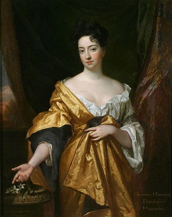 Hortense Mancini, 1671 (Sir Godfrey Kneller) (1646-1723) Graves Gallery, Scheffield, South Yorkshire