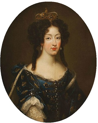 Marie Louise d'Orléans, Queen Consort of Spain, 1679 (Pierre Mignard) (1612-1695) Location TBD