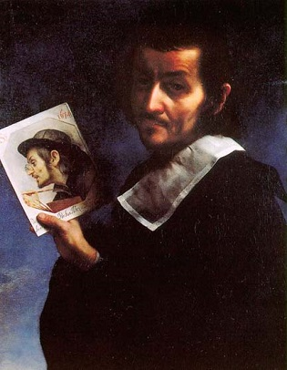 Self-Portrait, 1674 (Carlo Dolci) (1616-1684) Location TBD