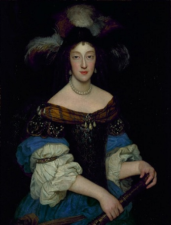 Henriette Adelaide of Savoy, Electress of Bavaria, 1670 (Unknown Artist) Location TBD