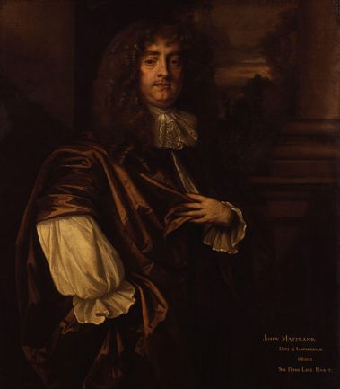 Henry Brouncker, 3rd Viscount Brouncker, ca. 1675 (Sir Peter Lely) (1618-1680) National Portrait Gallery, London NPG 1590