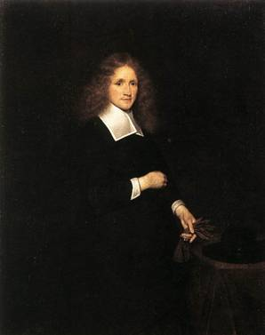 A Young Man, ca. 1670 (Gerard Terborch) (1617-1681) Wallraf-Richartz Museum, Cologne