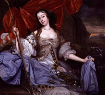Barbara Palmer (née Villiers), Duchess of Cleveland, ca. 1670 (John Michael Wright) (1617-1694) National Portrait Gallery, London NPG 5497