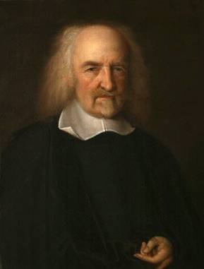 Thomas Hobbes, ca. 1669-1670 (John Michael Wright) (1617-1694) National Portrait Gallery, London NPG 225