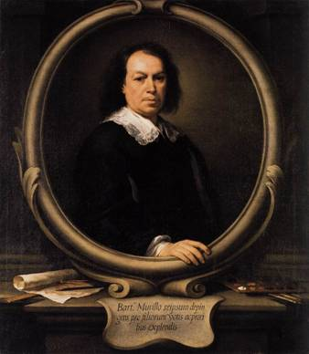 Self-Portrait, ca. 1670-1672 (Bartolomé Esteban Murillo) (1617-1682) The National Gallery, London