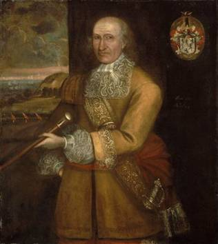 Major Thomas Savage, 1679 (attributed to Thomas Smith) Museum of Fine Arts, Boston 1983.35