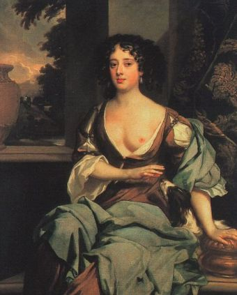 Margaret Hughes, ca. 1670 (Sir Peter Lely) (1618-1680) Location TBD