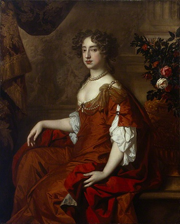 Queen Mary II, 1677 (Sir Peter Lely) (1618-1680) National Portrait Gallery, London NPG 6214