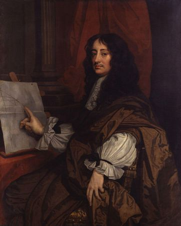 William Brouncker, 2nd Viscount Brouncker, ca. 1674 (Sir Peter Lely) (1618-1680) National Portrait Gallery, London NPG 1567