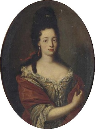 Maria Angela Caterina d'Este, Princess of Modena and Carignan, ca. 1684 (follower ofHyacinthe Rigaud) (1657-1743) Location TBD