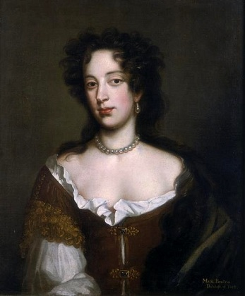 Mary of Modena, 2nd wife of James II of England, 1680 (Willem Wissing) (1656-1687)   Location TBD
