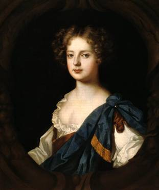 Nell Gwynne at 30 years of age, Mistress to Charles II, ca. 1680  (Sir Peter Lely)   (1618-1680)   Location TBD
