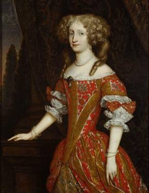 Eleonore Magdalena of Neuburg, Holy Roman Empress Consort, ca. 1680  (Unknown Artist)   Kunsthistorisches Museum, Wien     Inv.-Nr. GG_5617