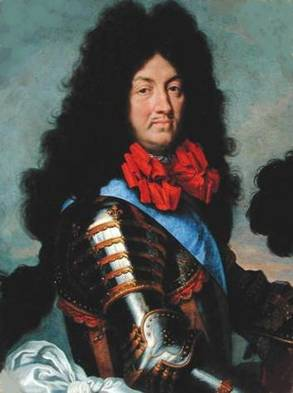 Louis XIV at 46 years old, ca. 1684    (Unknown Artist)    Location TBD