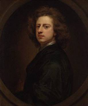 Self Portrait at 39 years old (Godfrey Kneller)  (1646-1723)   Location TBD