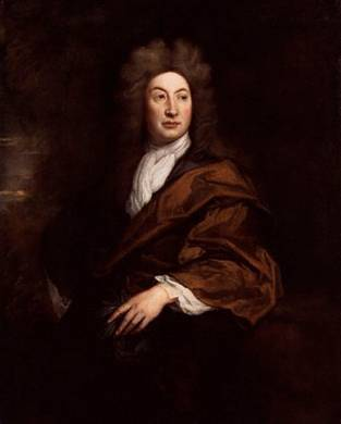 John Dryden, 1693  (Godfrey Kneller) (1646-1723)     National Portrait Gallery, London   NPG 2083