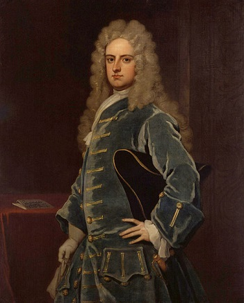 James Craggs the Younger, ca. 1708 (Sir Godfrey Kneller) (1646-1723)   National Portrait Gallery, London, NPG 1134