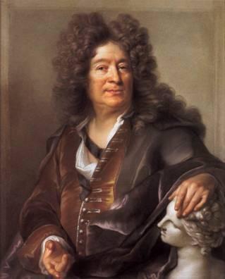 François Girardon, 1701 (Joseph Vivien) (1657-1734) Musée du Louvre, Paris