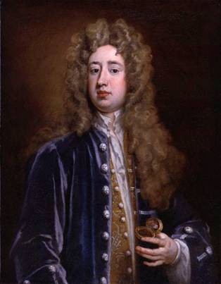 Charles Mohun, 4th Baron Mohun, 1707  (Sir Godfrey Kneller) (1646-1723)   National Portrait Gallery, London   NPG 3218