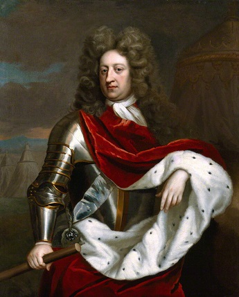 Prince George of Denmark, Duke of Cumberland, ca. 1705 (by or after Michael Dahl)  (1659-1743)   National Portrait Gallery, London,  NPG 4163
