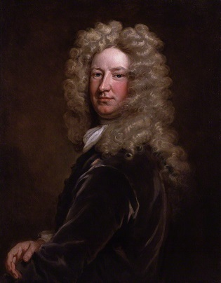Sir Samuel Garth, ca. 1707 (Sir Godfrey Kneller) (1646-1723) National Portrait Gallery, London   NPG 3208