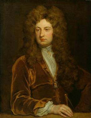 John Vanbrugh, 1710 (Sir Godfrey Kneller) (1646-1723)     National Portrait Gallery, London