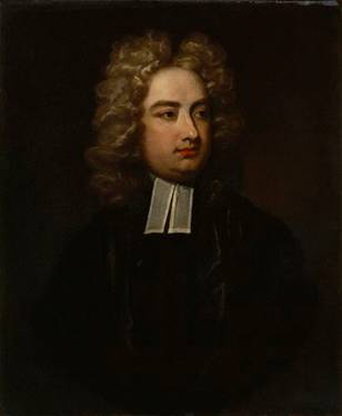 Jonathan Swift, 1710  (Charles Jervas)  (1675-1739)    National Portrait Gallery, London NPG 4407