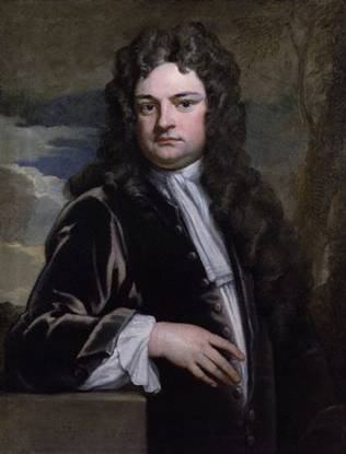 Richard Steele, 1711 (Sir Godfrey Kneller) (1646-1723)   Location TBD