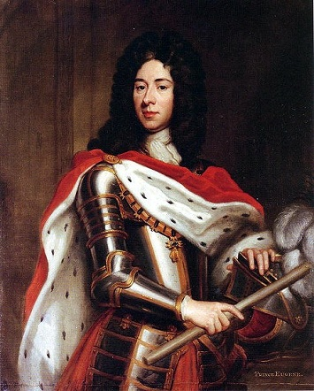 Prince Eugene of Savoy, 1712 (Sir Godfrey Kneller) (1646-1723)   Private Collection