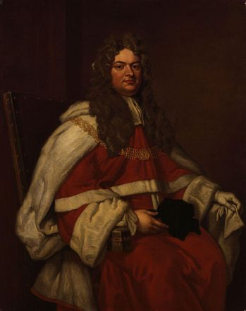 Thomas Parker, 1st Earl of Macclesfield, 1712  (after Sir Godfrey Kneller)  (1646-1723)   National Portrait Gallery, London    NPG 799