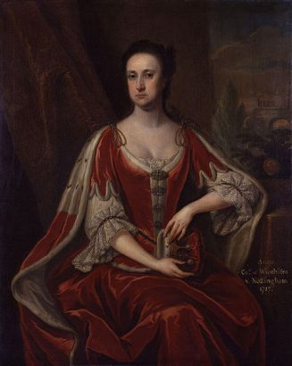 Anne Hatton, Countess of Winchilsea, 1727   (attributed to Jonathan Richardson) (1667-1745)   National Portrait Gallery, London    NPG 3622a