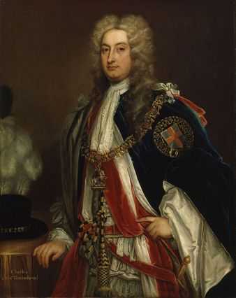 Charles Townshend, ca. 1715-1720 (Sir Godfrey Kneller) (1646-1723) National Portrait Gallery, London NPG 1755