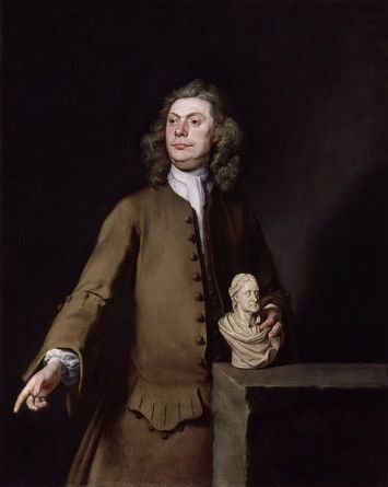 David le Marchand, ca. 1723 (Joseph Highmore) (1692-1780) National Portrait Gallery, London,    NPG 6142